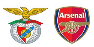 Golos Benfica 2 vs 1 Arsenal – Eusébio Cup