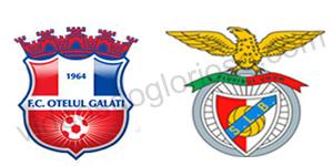 Golos Otelul Galati 0 vs 1 Benfica – Liga dos Campeões