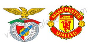 Golos Benfica 1 vs 1 Man United – Liga dos Campeões