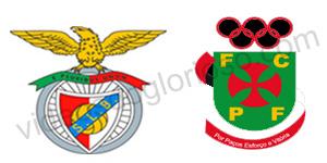 Golos Benfica 1 vs 1 Paços de Ferreira- Taça Portugal