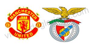 Golos Manchester United 2 vs 2 Benfica – Liga dos Campeões