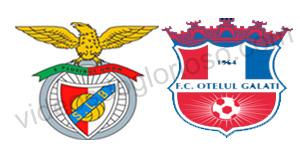 Golo Benfica 1 vs 0 Otelul Galati – Liga dos Campeões