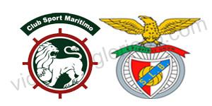 Golos Marítimo 1 vs 2 Benfica – 27ª Jornada