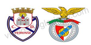 Golos Feirense 1 vs 2 Benfica – 17ª Jornada