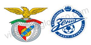 Golos Benfica 2 vs 0 Zenit – Liga dos Campeões