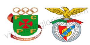 Golos Paços de Ferreira 0 vs 2 Benfica – Taça Portugal