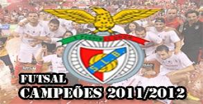 Benfica Futsal Campeões 2011/2012