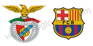 Golos Benfica 0 vs 2 Barcelona – Liga dos Campeões