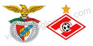 Golos Benfica 2 vs 0 Spartak – Liga dos Campeões