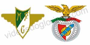Golos Moreirense 0 vs 2 Benfica – Taça Portugal