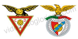 Golos Desportivo Aves 0 vs 4 Benfica – Taça da Liga