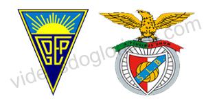 Golos Estoril 1 vs 3 Benfica – 13ª Jornada