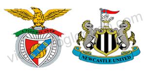 Golos Benfica 3 vs 1 Newcastle – Liga Europa