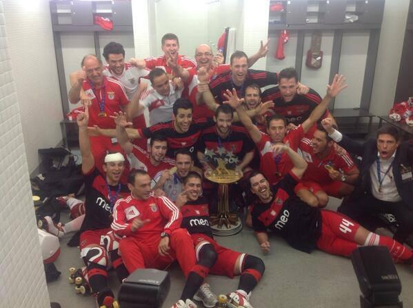 Benfica Campeão Europeu – Hoquei Patins