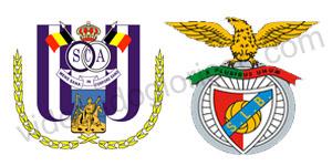 Golos Anderlecht 2 vs 3 Benfica – Liga dos Campeões