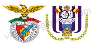 Golos Benfica 2 vs 0 Anderlecht – Liga dos Campeões