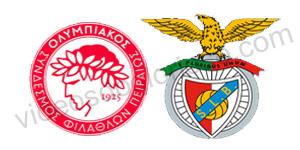 Golo Olympiacos 1 vs 0 Benfica– Liga dos Campeões