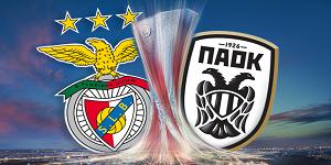 Golos Benfica 3 vs 0 PAOK – Liga Europa