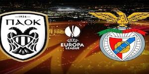 Golo PAOK 0 vs 1 Benfica – Liga Europa