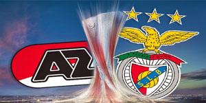 Golo Az Alkmaar 0 vs 1 Benfica – Liga Europa
