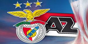 Golos Benfica 2 vs 0 Az Alkmaar – Liga Europa