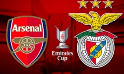 Golos Benfica 1 vs 5 Arsenal – Pré Época