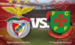 Golo Benfica 1 vs 0 Paços de Ferreira – Taça da Liga