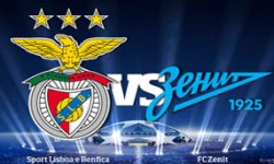 Golo Benfica 1 vs 0 FC Zenit – Liga dos Campeões