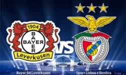 Golos Bayer Leverkusen 3 vs 1 Benfica – Liga dos Campeões