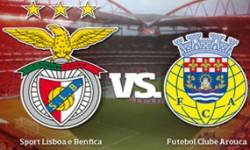 Golos Benfica 3 vs 0 Arouca – 21ª jornada