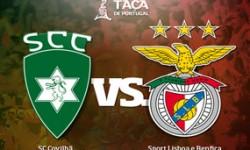 Golos Sporting da Covilhã 2 vs 3 Benfica – Taça de Portugal