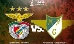Golos Benfica 4 vs 1 Moreirense – Taça de Portugal