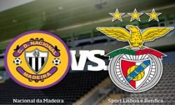 Golos Nacional 0 vs 4 Benfica – 4ª jornada