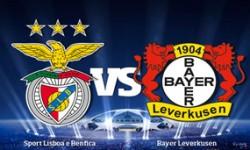 Resumo: Benfica 0 vs 0 Bayer Leverkusen – Liga dos Campeões