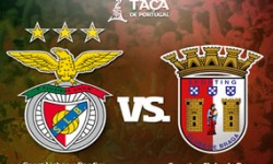 Golos Benfica 1 vs 2 SC Braga – Taça de Portugal