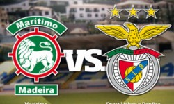 Golos Marítimo 0 vs 4 Benfica – 17ª jornada