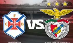 Golos Belenenses 2 vs 0 Benfica – 8ª jornada