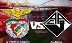 Golos Benfica 5 vs 1 Académica – 28ª jornada