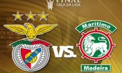 Benfica 2 vs 1 Marítimo – Vencedor Taça da Liga 2014/2015