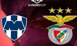 Golos Benfica 0 vs 3 Monterrey – Eusébio Cup