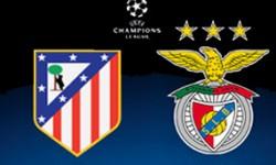 Golos Atlético de Madrid 1 vs 2 Benfica – Liga dos Campeões