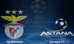 Golos Benfica 2 vs 0 FC Astana – Liga dos Campeões