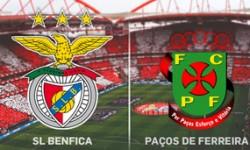 Golos Benfica 3 vs 0 Paços de Ferreira – 9ª jornada
