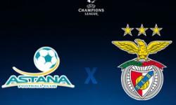 Golos FC Astana 2 vs 2 Benfica – Liga dos Campeões