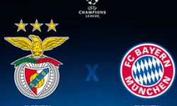 Golos Benfica 2 vs 2 Bayern Munique – Liga dos Campeões