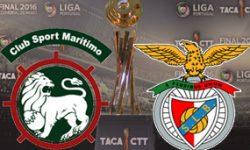 Marítimo 2 vs 6 Benfica – Vencedor Taça da Liga 2015/2016