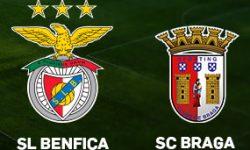 Golos Benfica 3 vs 0  SC Braga– Supertaça Cândido de Oliveira