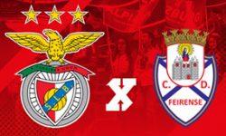 Golos Benfica 4 vs 0 Feirense – 7ª jornada