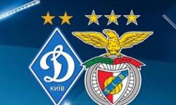 Golos Dínamo Kiev 0 vs 2 Benfica – Liga dos Campeões
