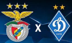 Golo Benfica 1 vs 0 Dínamo Kiev – Liga dos Campeões
